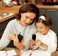 Учимся пользоваться мобильными у детей