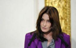 Карла Бруни-Саркози споет с Боно из группы U2