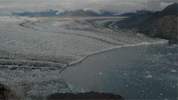 Таяние ледников видно невооруженным взглядом (видео)