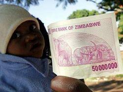 Правительство Зимбабве ввело в обращение 50-миллионную купюру