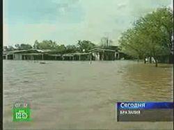 Двухнедельный потоп оставил без крова 40 тысяч бразильцев