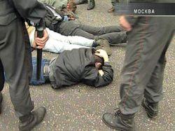 Около сорока нацболов задержаны за акцию на Красной площади