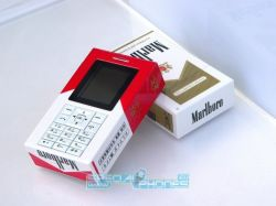 Телефон в сигаретной пачке