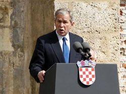 Джордж Буш надеется, что Сербия тоже в будущем станет членом НАТО