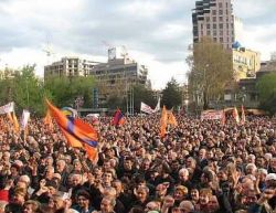 В Армении установлен политический мир