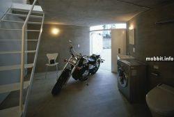 Жилой дом для мотоциклистов (фото)