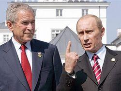 После встречи Джорджа Буша и Владимира Путина в Сочи произошел взрыв