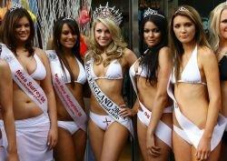 """Полуфиналистки конкурса \""""Мисс Англия-2008\"""" (фото)"""
