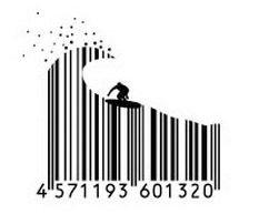 Штрих-код стал элементом дизайна (фото)