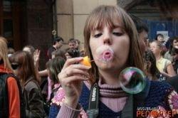 Парад мыльных пузырей (фото)