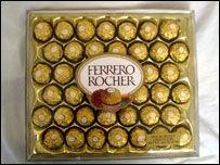 Китай запретил подделывать конфеты Ferrero Rocher