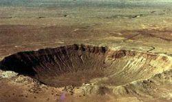 В Аргентине упал метеорит размером с автомобиль