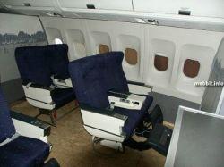 Модель салона самолета продается на eBay (фото)