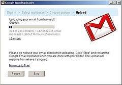 Google запустил импортер e-mail