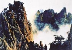 Живописные пейзажи китайских гор Хуаншань (фото)