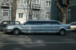 Эксклюзивный украинский лимузин (фото)