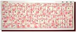 Клавиатуры ручной раскраски в традиционном японском стиле