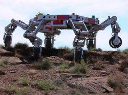 В НАСА представили прототип лунного робота ATHLETE