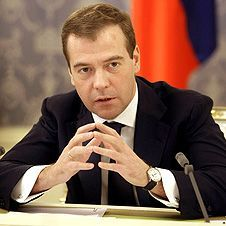 "Дмитрий Медведев вступился за \""Домодедово\"""