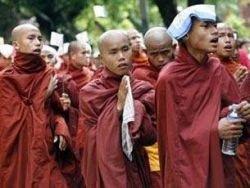 В Китае прошла очередная демонстрация монахов
