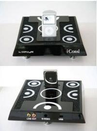 Инкрустированная кораллами iPod-платформа Copular iCoral