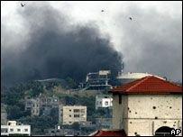 Боевики атаковали КПП и склад топлива в Газе