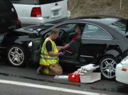 Крупнейшая за последние годы авария в Швейцарии: столкнулись 64 легковых автомобиля и пять грузовиков
