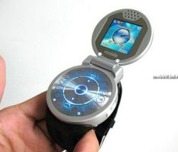 Cool G108 – наручные часы и телефон-раскладушка в одном (фото)