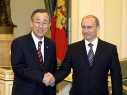 Пан Ги Мун объявил в Москве о запуске российской сети Глобального договора ООН
