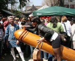 В Японии прошёл праздник фаллоса (фото)