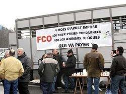 Французские фермеры блокировали туннель под Монбланом