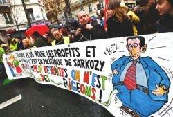 Около 19 тыс. человек приняли участие в акции протеста против реформы системы образования во Франции