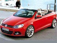 Появились изображения нового кабриолета Volkswagen Golf