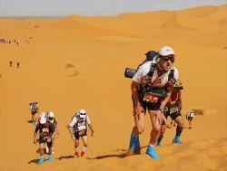 Песчаный марафон в пустыне Сахара (фото)