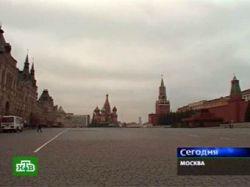 На Красной площади взорвали коробку фейерверков