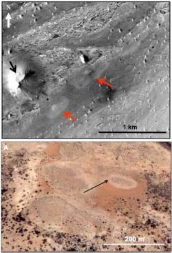 Марс может столкнуться со своим спутником