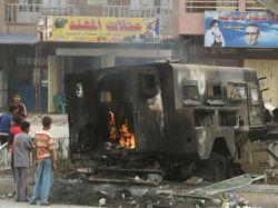 Вертолет США по ошибке уничтожил американскую бронемашину в Ираке