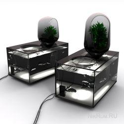 Концептуальный аквариум-холодильник: для любителей самой свежей пищи