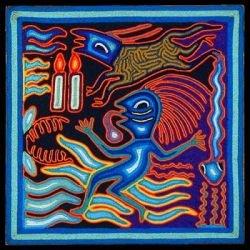 Искусство индейцев Уичоль (Huichol) (фото)