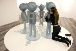 Инопланетная любовь на выставке Марико Мори в Киеве (фото)