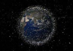 «Космический мусор» вокруг Земли (фото)