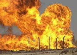 В Нигерии взорваны нефтяные платформы