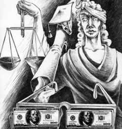 $210 000 000 – годовой объем взяток в судах России