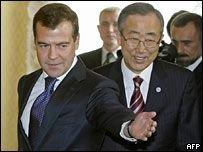 Россия: мы не угрожали генсеку ООН