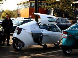 MonoTracer – мотоцикл закрытого типа (фото)