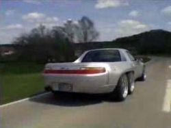 6-ти колесный пикап Porsche 928 GTS (видео)