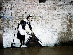 Знаменитый художник Бэнкси нарисовал самое большое граффити