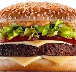 Американцы помешаны на гамбургерах
