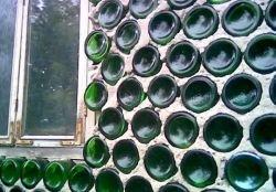 Удивительный дом из бутылок (фото)