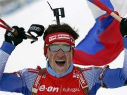 Максим Чудов и Екатерина Юрьева признаны лучшими биатлонистами России